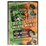 Reap The Wild Wind Movie Poster
