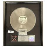 Grateful Dead In The Dark Presentation Award Disc