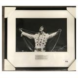 Elvis Presley 1972 MSG Entertainment Photograph