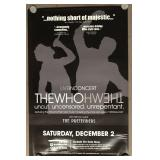 The Who Concert Posters, Tickets, Passes, Ephemera