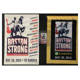 Boston Strong Concert Poster, Banner & Pass