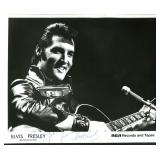 Elvis Presley Signed 8 x 10 Photo