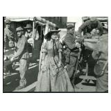 Vivien Leigh Signed Black and White Photo