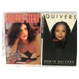 (2) Autographed Books, Howard Stern, Robin Quivers