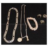 Sterling Jewelry Lot.