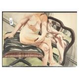 Philip Pearlstein, Signed Ltd Ed Lithograph