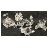 Swarovski Crystal Lot of Four Pieces.
