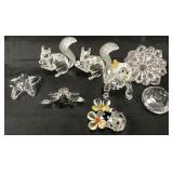 Swarovski Crystal Lot of Smaller Pieces.