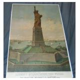 1883, Liberty Enlightening the World Poster