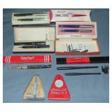 Esterbrook Lot. Boxed Pens Etc.