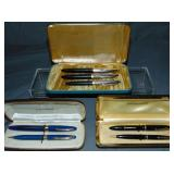 Sheaffer Lot of Three Boxed Sets.