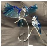 Swarovski Crystal. Blue Jays. 2013.