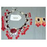 Lawrence Vrba Necklace and Earrings