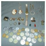 Jewelry and Coin Lot.
