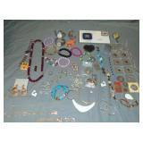 Mixed Jewelry Lot includes Gold and Costume.