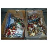 Estate Jewelry Lot in Two Cartons.