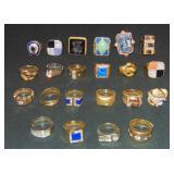Fabulous Gold, Diamond and Precious Stones Rings.