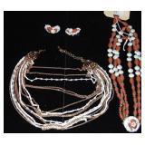 Vintage Costume Jewelry. Hobe, Monet.