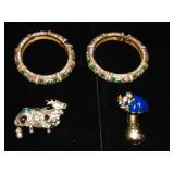 Vintage Costume Jewelry. Kenneth J Lane.