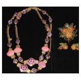 Vintage Costume Jewelry. Vrba, Vendome.