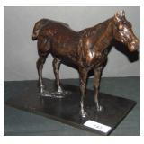 After Degas. Bronze Horse.