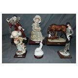 Armani Figurines. Lot of 6