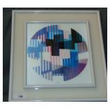 Yaacov Agam, Signed Limited Edition Lithograph