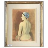 Moise Kisling, Signed Limited Ed Lithograph