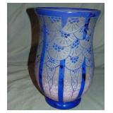 Signed French Cameo Vase