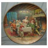 """""""Home of Falstaff"""" Beer Advertising Tray/Charger"""