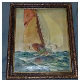 Ragnar Olson, Oil on Canvas Painting