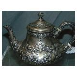 Dominick & Haff Sterling Silver Teapot