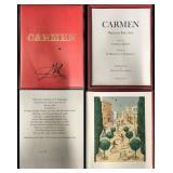 """Salvador Dali, """"Carmen"""" Suite, 25 Lithographs"""