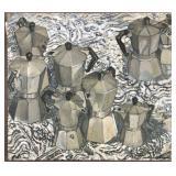 """Rosemary Naegele, Painting on Wood """"Good Morning"""""""