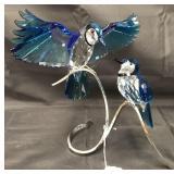 Swarovski Crystal. Blue Jays. 2013.