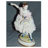 Volkstedt Porcelain Ballerina Figurine