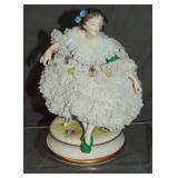 Volkstedt Porcelain Crinoline Figurine