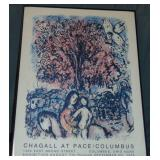 Marc Chagall at Pace Columbus, Offset Poster