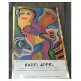 """Karel Appel """"Smiling Together"""" Poster 1976"""