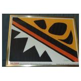 Alexander Calder at Pace Columbus, Offset Poster