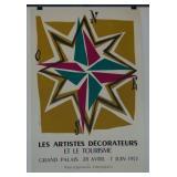 1953 Jean Colin Exhibition Poster