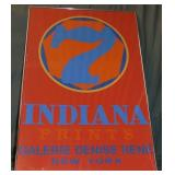 1976 Robert Indiana Exhibition Poster