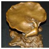 Clio Hinton Huneker Bracken  (1870 - 1925) Bronze.