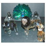 Swarovski Figurines. Lot of 6