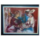 Ruth Schloss  (1922 - 2013) Oil on Canvas.