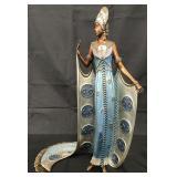 "Erte ""Iras"" Limited Edition Bronze Sculpture"
