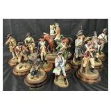 Royal Doulton, Soldiers of the Revolution, 13 Pcs