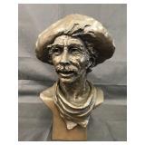 """Greg Glasson Bronze, """"Mule Skinner"""""""