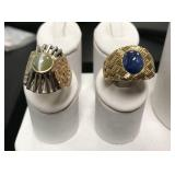 Lot of 2 Gold Rings