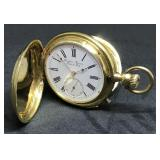 18 Kt Gold Repeating Pocket Watch